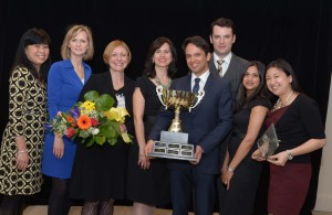 Argyle Communications take home the CPRS Toronto ACE Award for Best PR Campaign