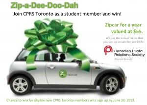 Zipcar membership promo
