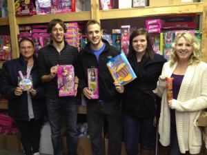 Loyalist PR's social media team is partnering with the Belleville Firefighters' annual Christmas toy drive